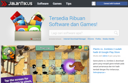 .com Download Game PC dan Android Gratis Terbaru dengan server lokal